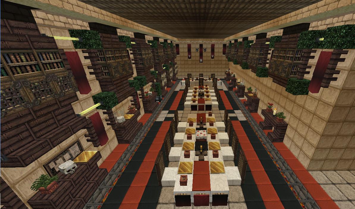 Royal Room Designs Minecraft