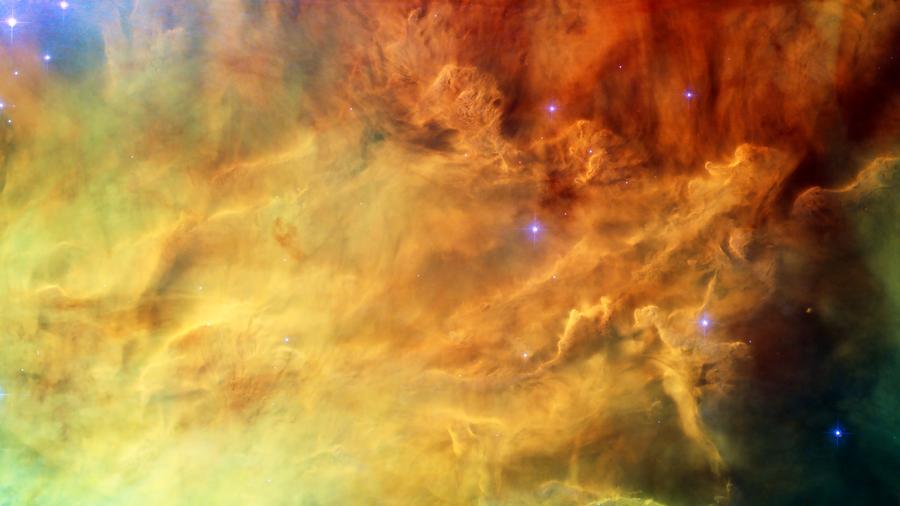 Lagoon Nebula by panzi