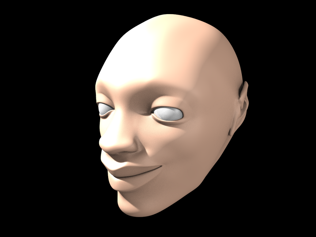 female head by panzi
