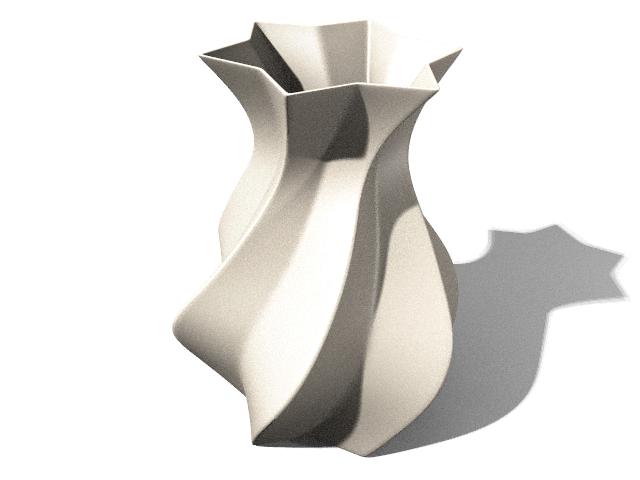 vase - ceramic with blender by panzi
