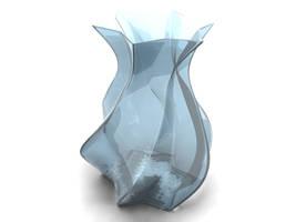vase - glass with yafray by panzi