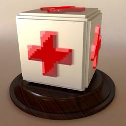 feliciaHeal Emote in 3D