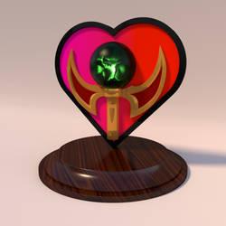 feliciaHeart Emote in 3D by panzi