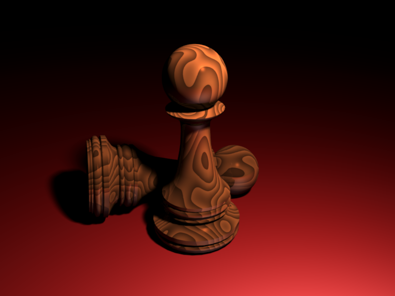 wooden pawn by panzi