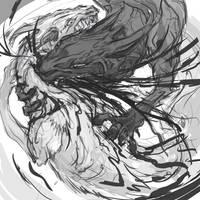 fight sketch