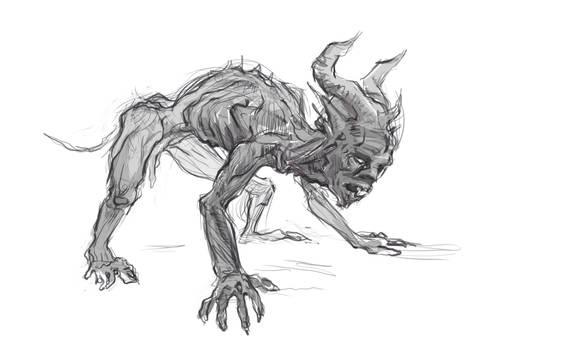 Beast sketch