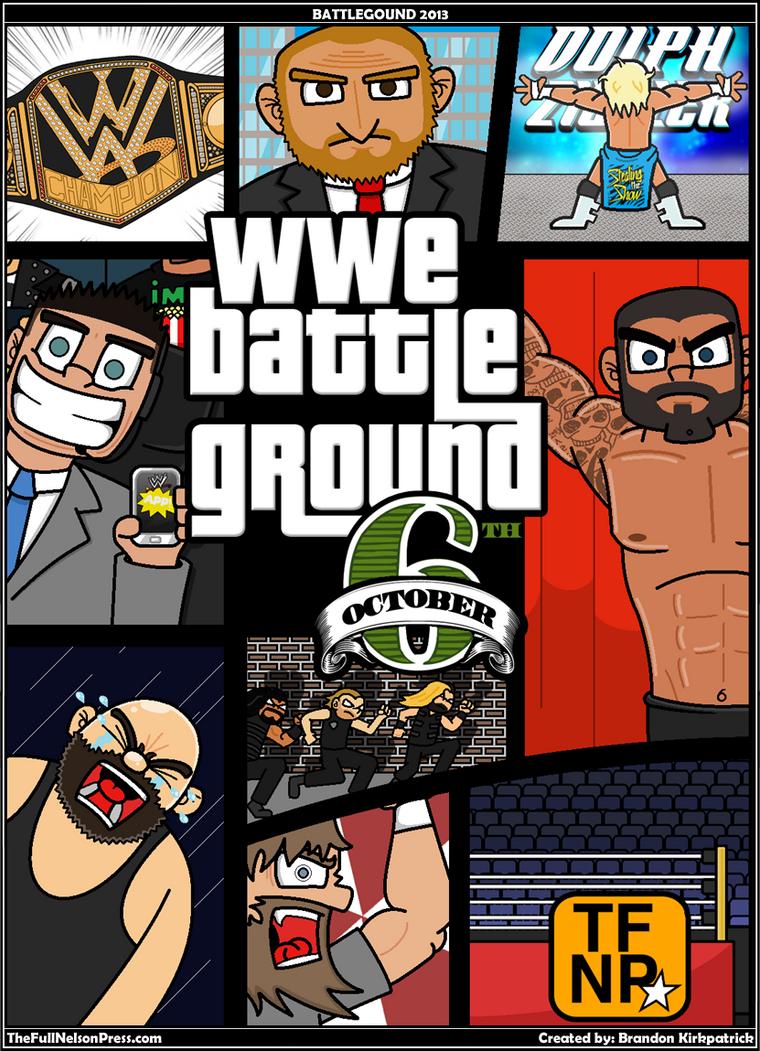 WWE Battleground 2013 by TheFullNelsonPress