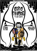 WWE Night of Champions 2015- Sting vs Seth Rollins by TheFullNelsonPress