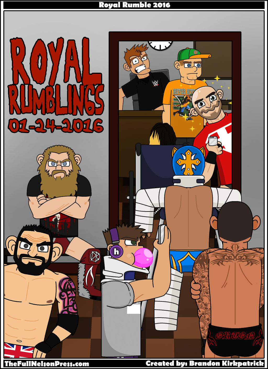 WWE Royal Rumble 2016 by TheFullNelsonPress