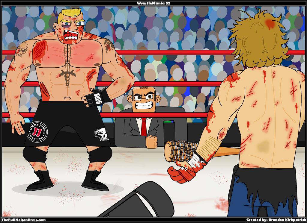 WWE WrestleMania 32 by TheFullNelsonPress