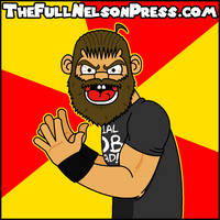 Curtis Axel (2015 Social Outcasts) by TheFullNelsonPress