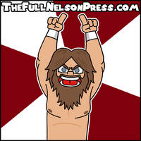 Daniel Bryan (2014 WrestleMania 30) by TheFullNelsonPress