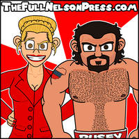 Rusev w/ Lana (2014 WWE Royal Rumble) by TheFullNelsonPress