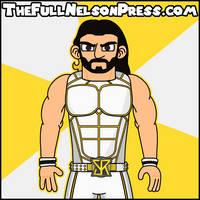 Seth Rollins (2015 WWE SummerSlam) by TheFullNelsonPress