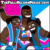 The New Day (2015 Unicorn Attire) by TheFullNelsonPress