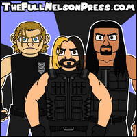 The SHIELD (2014 WWE Elimination Chamber) by TheFullNelsonPress