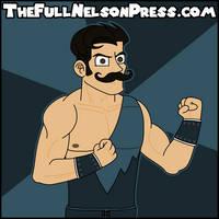 Simon Gotch (2016 WWE SmackDown Debut) by TheFullNelsonPress