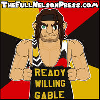 Chad Gable (2016 SmackDown Tag Champions) by TheFullNelsonPress