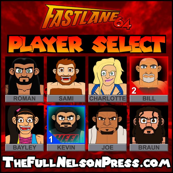 WWE Fastlane 2017 by TheFullNelsonPress