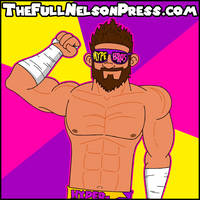 Zack Ryder (2016) by TheFullNelsonPress