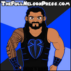 Roman Reigns (2017 WWE Extreme Rules) by TheFullNelsonPress