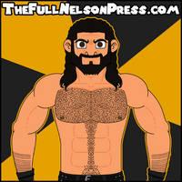 Seth Rollins (2017 King Slayer) by TheFullNelsonPress