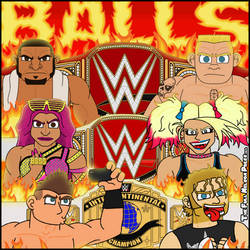 WWE Great Balls of Fire 2017 by TheFullNelsonPress