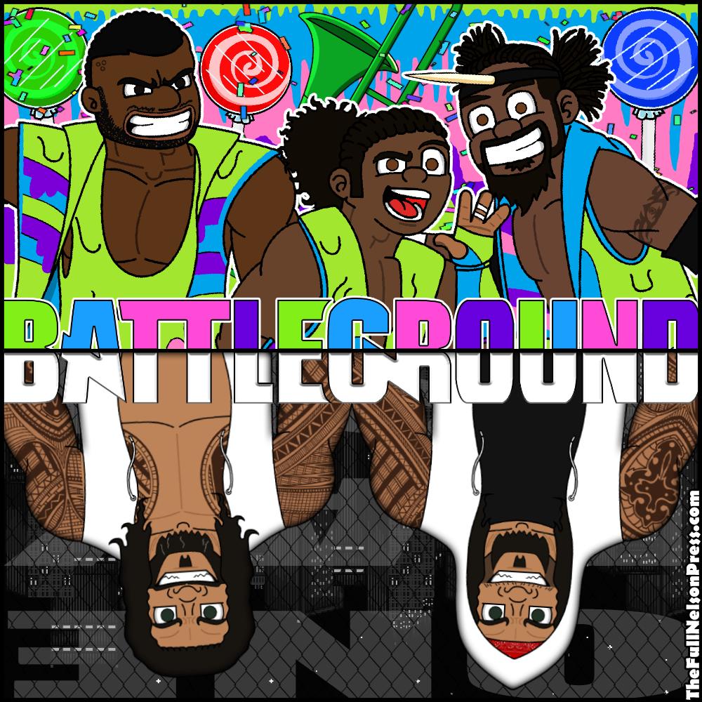 WWE Battleground 2017 by TheFullNelsonPress