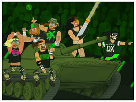 D-Generation X by TheFullNelsonPress