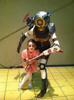 Big Sister protecting the Little One by Kari--Koboyashi