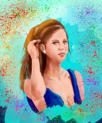 Portrait Study 3 by StellarAdventurer