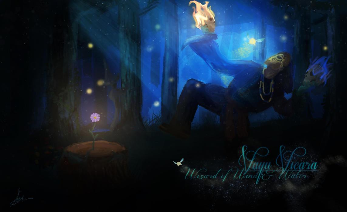 Wizard of Wind and Water : Vayu Vicara by StellarAdventurer