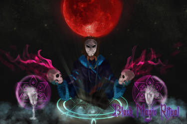 Black Magic Ritual by StellarAdventurer