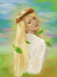 Portrait of Maria Amanda by StellarAdventurer