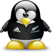 All Blacks Tux Avatar by techspider