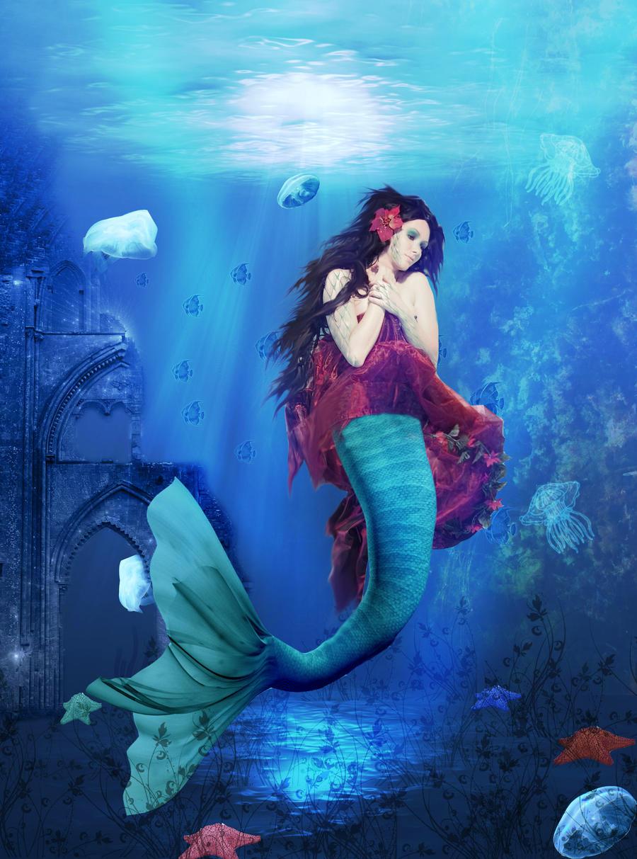 little mermaid by aBeautifullMess on DeviantArt