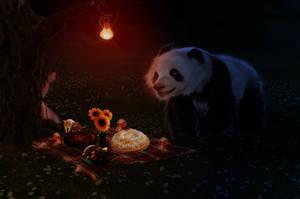 Midnight picnic by aBeautifullMess