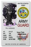 Army Card by foxumon