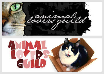 Animal Lovers Guild Banners