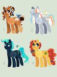 Pony Adopts [Open 1/4] [Set Price]