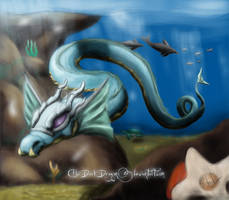 Levithen's Flight by LluhnarDragon