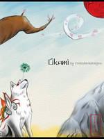 Okami-Gentle Breeze by LluhnarDragon