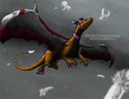 Gift Art: Shalone the Dragon by LluhnarDragon