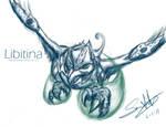 Free Sketch: Libitina by LluhnarDragon