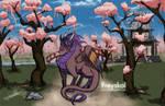 Commission: Blossom Freyskol by LluhnarDragon