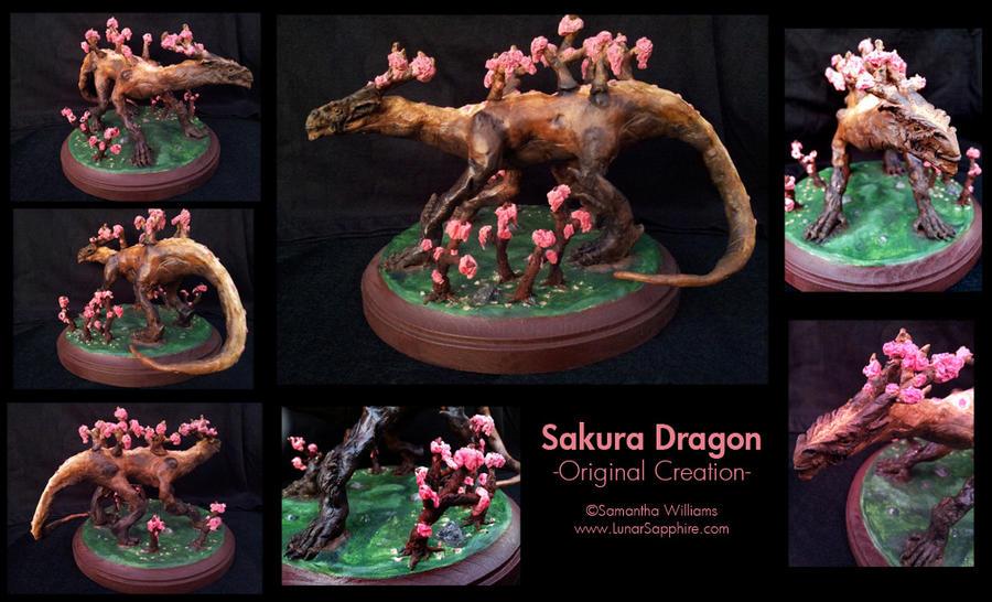 Sakura Dragon by LunarSapphire-studio
