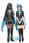 Vocaloid Collab- The Lapis Sisters