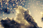 Glittering skies