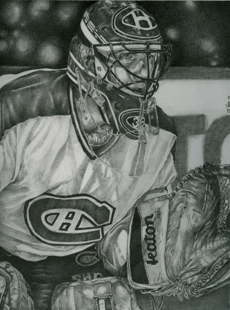 Patrick Roy ( hockey serie) by jeanfverreault