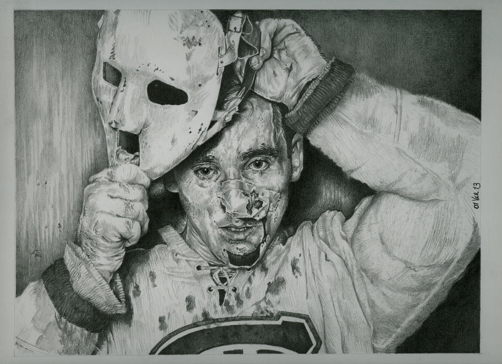 Jacques Plante: Jacques Plante By Jeanfverreault On DeviantArt